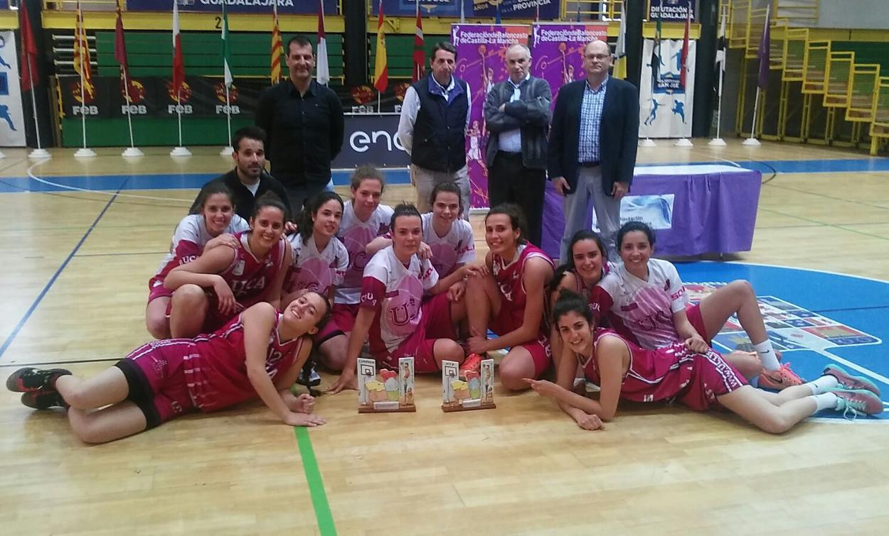 Soliss CB UCA, campeón senior femenino de Castilla-La Mancha