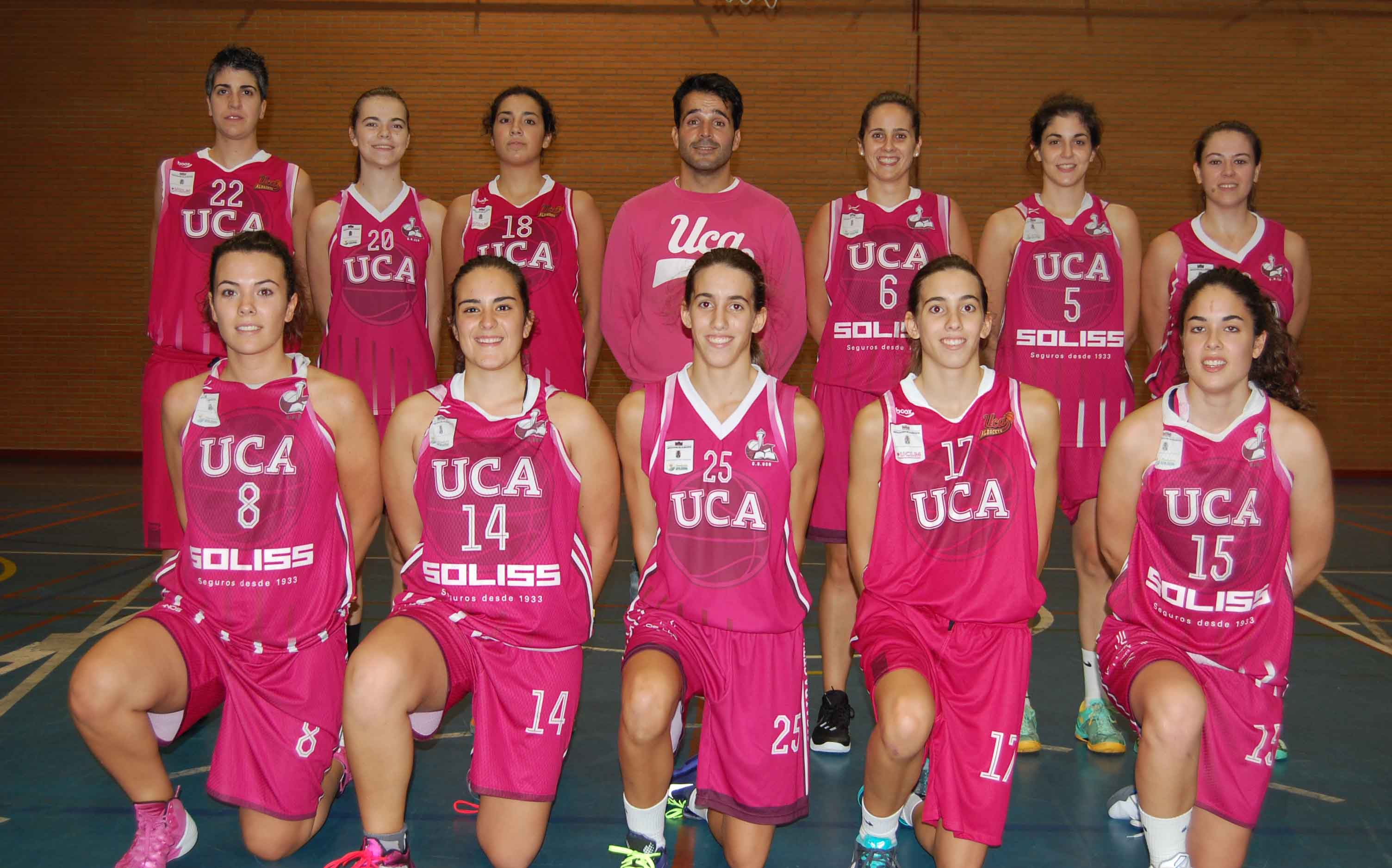 Soliss CB UCA, temporada 2015-2016