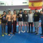 Sparring en el Fight Club Albacete