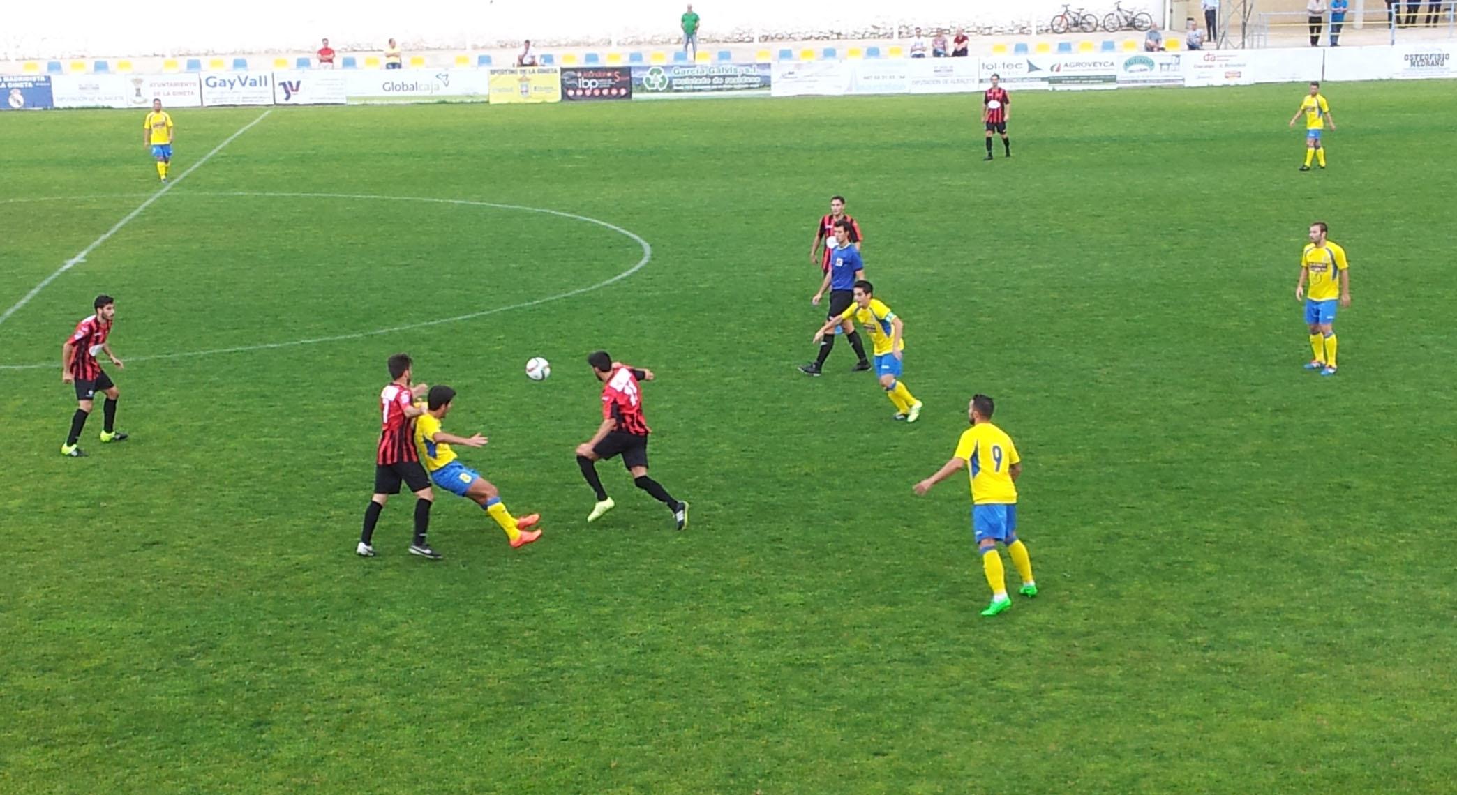 Sporting de La Gineta - CD Azuqueca