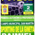 Sporting de La Gineta homenaje a Ceferino