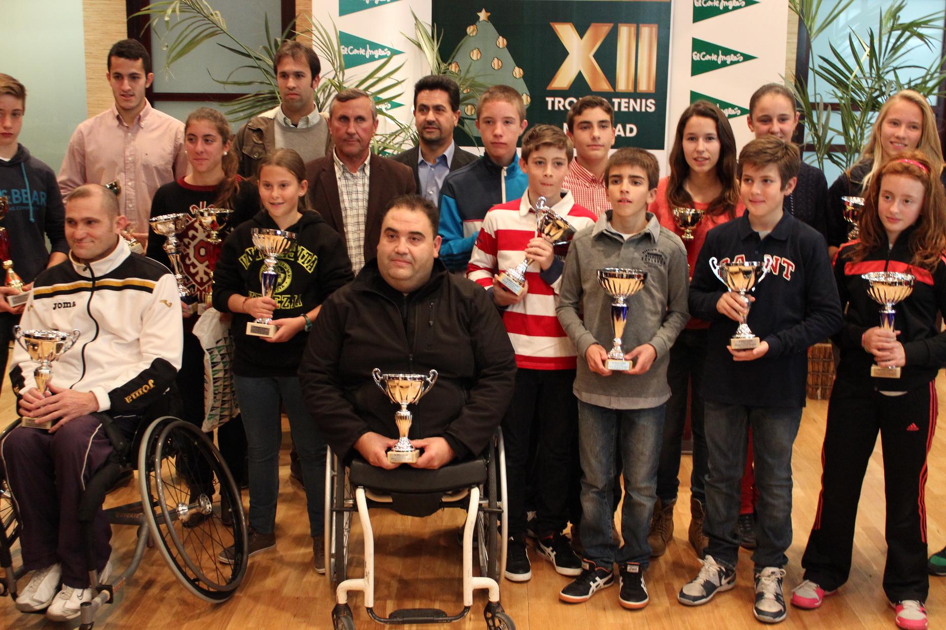 Ganadores del Trofeo de Navidad El Corte Inglés