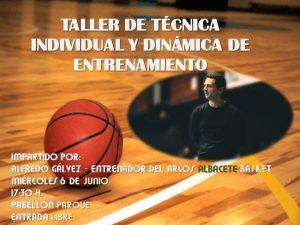 Taller de Técnica Individual con Alfredo Gálvez