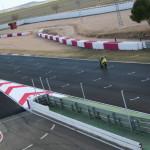 Test de pretemporada en el Circuito
