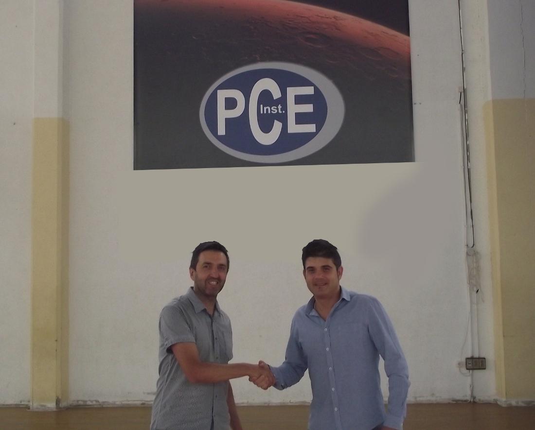 Tobarra CB y PCE Instruments renuevan su convenio de colaboración