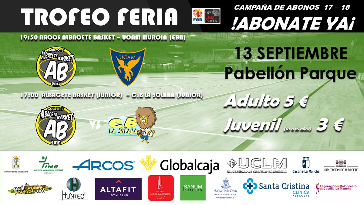 Torneo Feria Albacete Basket