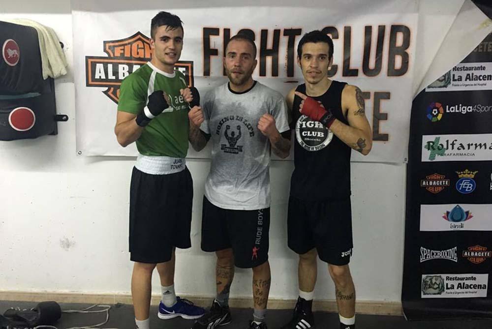 Juan Tovar, Aritz Pardal y Jordi Martínez