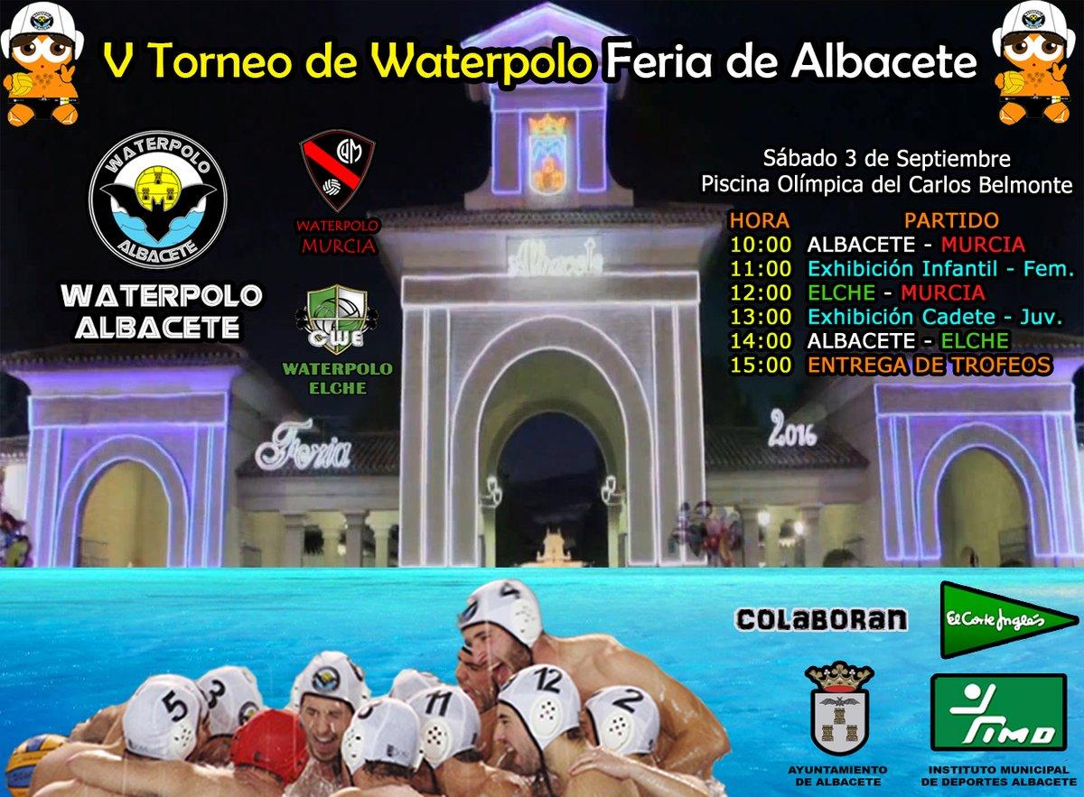 V Trofeo de Waterpolo Feria de Albacete