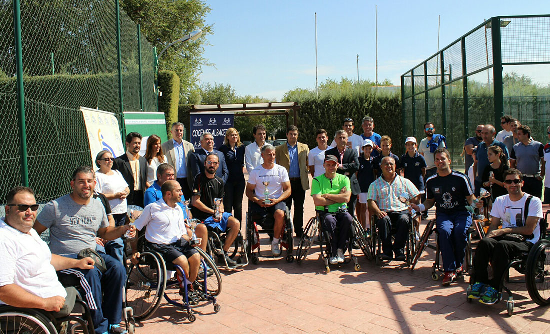 VIII Trofeo Ciudad de Albacete de Tenis en Silla de Ruedas