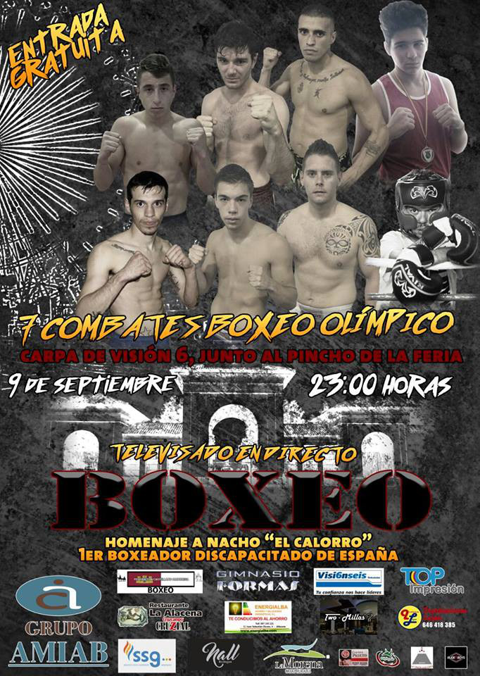 Velada Boxeo Feria de Albacete