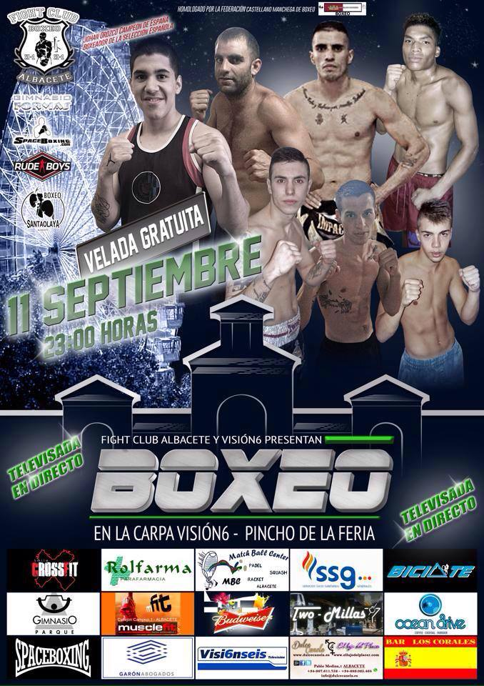 Velada de boxeo en Albacete