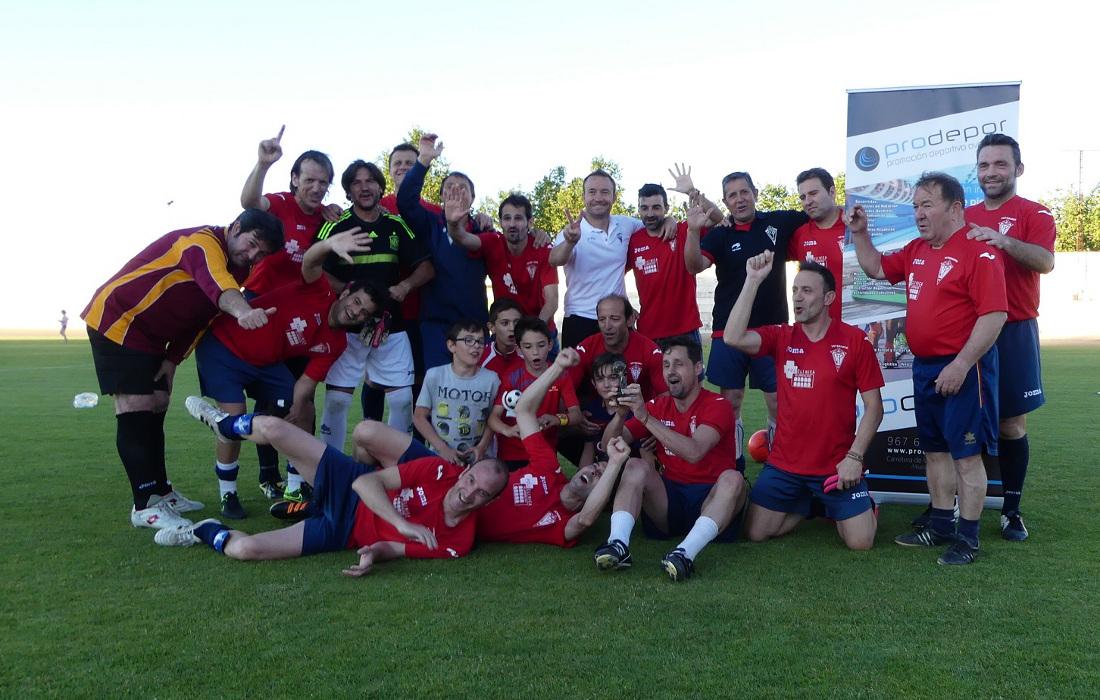 Veteranos del CP Villarrobledo, campeones de la Proavcup (Foto: Prodepor)