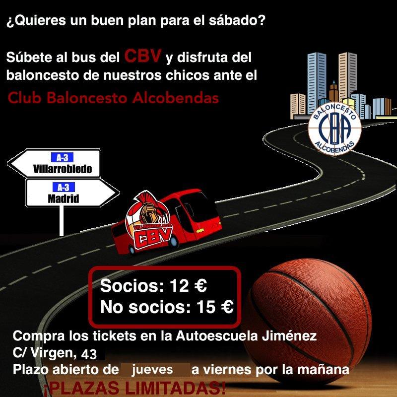 Viaje a Alcobendas con el CB Villarrobledo