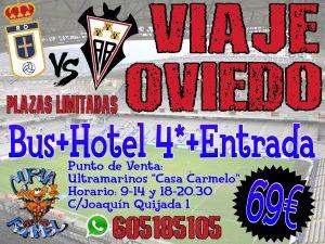 Viaje a Oviedo con la Curva Rommel
