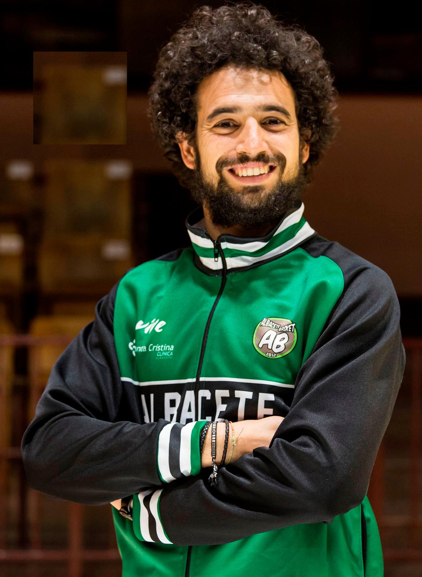 Víctor López, preparador físico del Arcos Albacete Basket