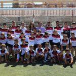 Visita de Manuel Serrano al Campus de Verano Experiencia Fútbol Chef