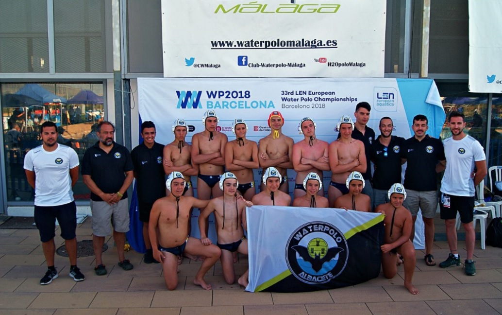 Waterpolo Albacete Infantil en el Campeonato de España