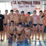 Waterpolo Albacete infantil en el Torneo WaterTuria