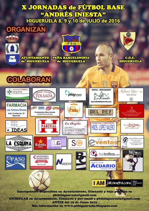 X Jornadas de Fútbol Base de Higueruela