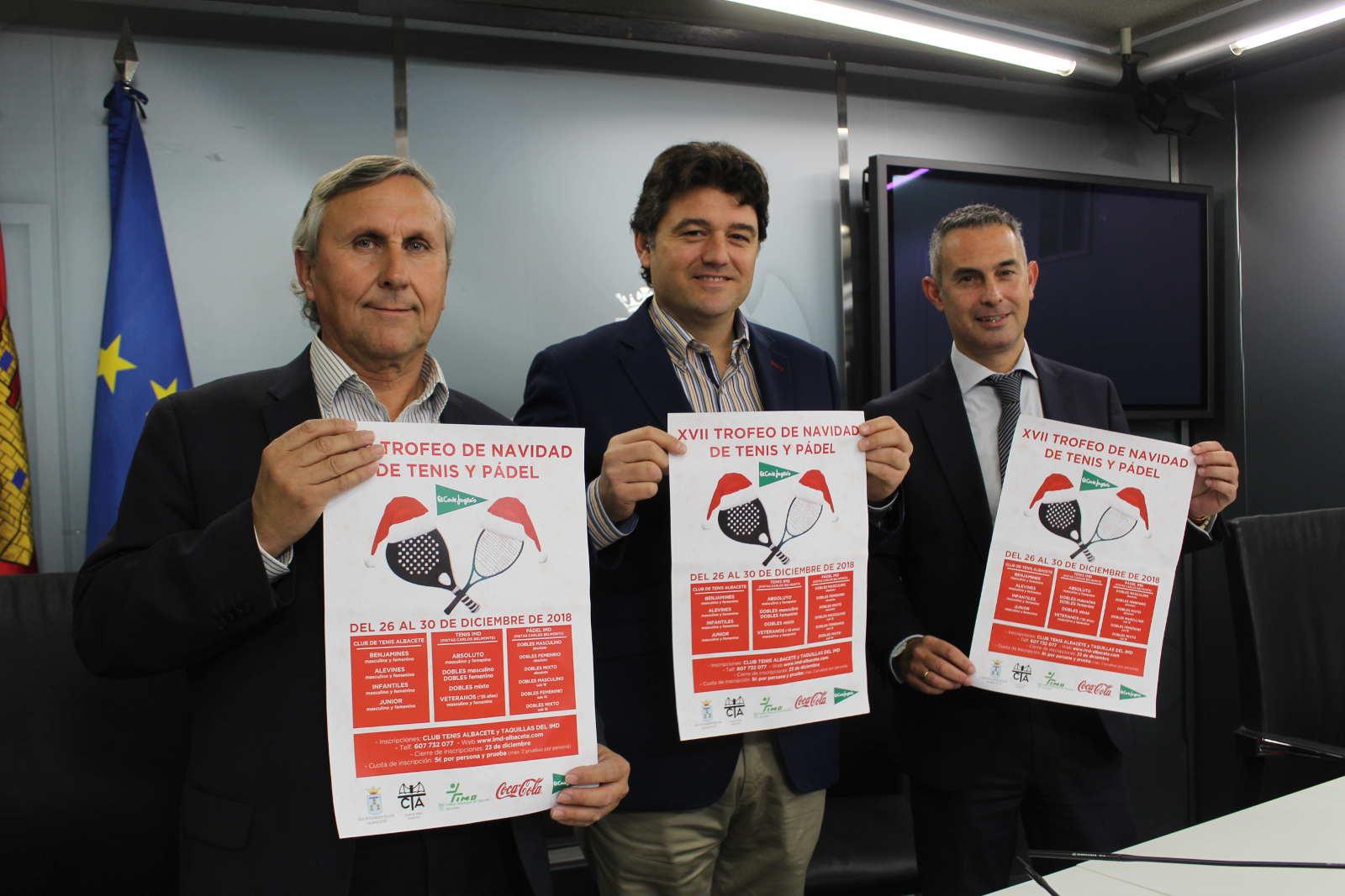 XVII edición del Trofeo de Navidad de Tenis El Corte Inglés