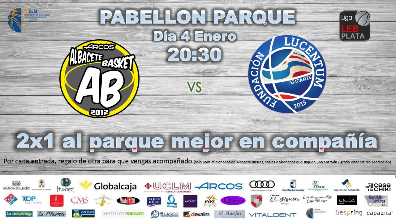 Cartel Albacete Basket - HLA Alicante