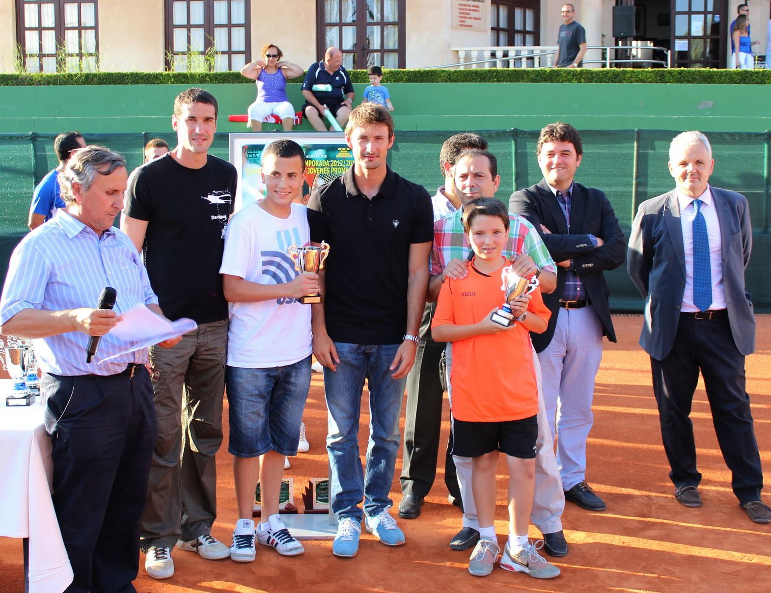 Última clausura de la Liga de Jóvenes Promesas (Foto: Club Tenis Albacete)