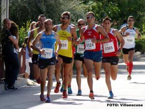 Grupo de cabeza en Aguas Nuevas (Foto: Paco Villaescusa)